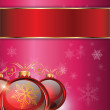 Stock Photo: Christmas background 2014