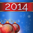 Christmas background 2014 — Stock Photo #30613043