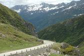 Road in Alps — Stock Photo