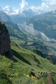 Alps in Switzerland — Stock Photo