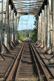 Old railway viaduct — Foto Stock