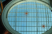 Glass roof in shopping precinct — Stock Photo