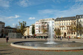 Luisenplatz in Potsdam — Stock Photo