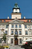 Marketplace in Jelenia Gora city — Stock Photo