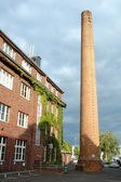 Building and chimney in Potsdam Germany — Stock Photo