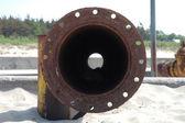 Rusty pipe — Stock Photo