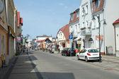 Ulice a domy — Stock fotografie