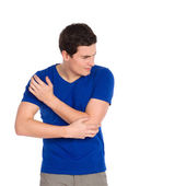 Pain in an elbow. — Stock Photo