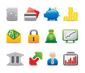 Business symbol logo and icons — Stock Vector