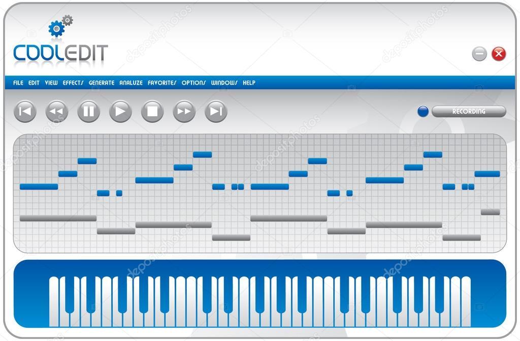 Cool Edit hd Music Computer