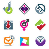 Marketing and business internet vector icon design — Stock Vector