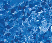Background modern texture triangle geometry blue wrinkly paper — Stock Vector