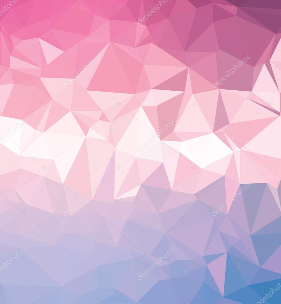 Background abstract triangle geometry pattern pink paper ...