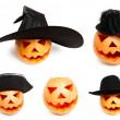 Halloween pumpkins — Stock Photo #30670853