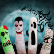 Halloween concept - Painted finger — Stock Photo #30671355