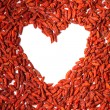 Useful goji berries — Stock Photo
