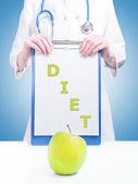 Follow the diet — Stock Photo