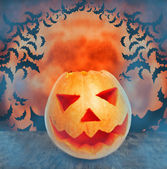 Halloween orange tones — Stock Photo