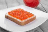 Delicacy breakfast — Stock Photo