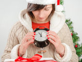 Five minutes before the new year! — Stock Photo