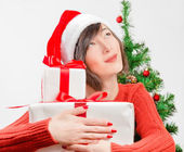 Presents for the new year — Stock Photo