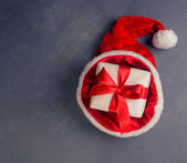 Gift in a hat — Foto Stock