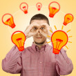 Concept of searching for new ideas — Stock Photo