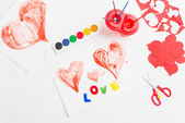 Preparing for Valentine's Day — Foto Stock
