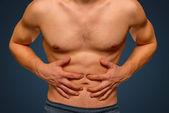 胃疼 — 图库照片