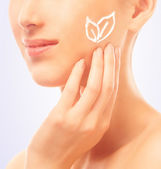 Moisturizing cream for the face — Stock Photo