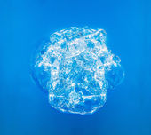 Bubble in water — Stock Photo