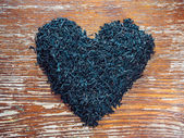 Té negro hoja secas — Foto de Stock