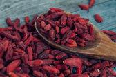Useful goji berries — Stock Photo