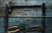 Telaio di strumenti di lavoro — Foto Stock