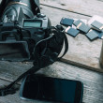 Equipment of photographer — Stock Photo #46372227
