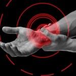 Pain in wrist area — Stock Photo #47708243