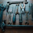 Old working tools — Stock Photo #49628429