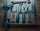 Old working tools — Stock Photo