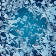 Abstract vector background with loosened ice shards — Vettoriali Stock