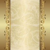 Vintage gold background — Stock Vector