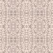 Seamless floral pattern. Vintage natural style — Stock Vector