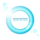 élément de conception circulaire — Vecteur