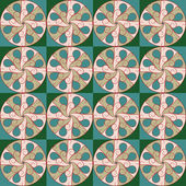 Geometric pattern, seamless pattern — Stock Vector