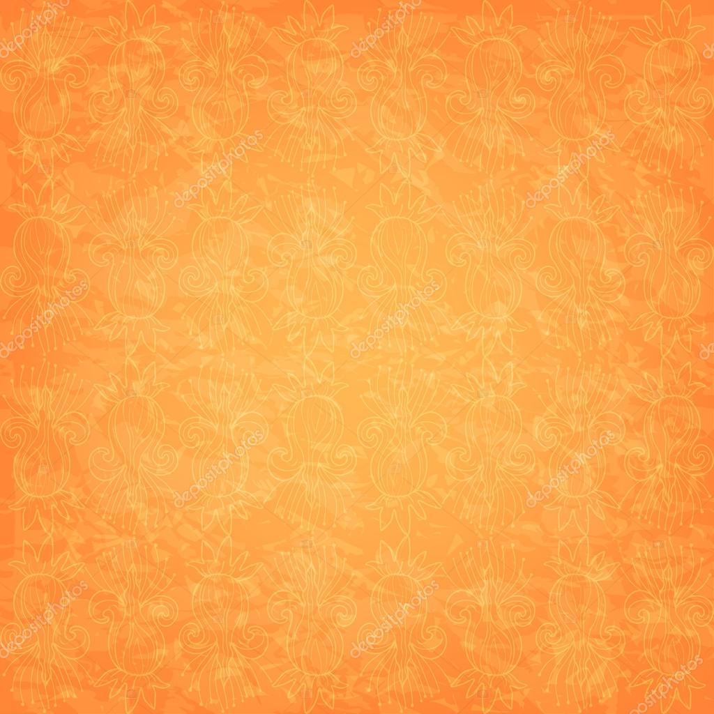 Fondo de color amarillo naranja intage vector de stock - Amarillo naranja ...