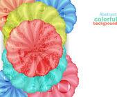 Ursprünglichen farbigen Hintergrund — Stockvektor