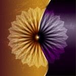 abstracte bloem — Stockvector