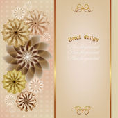 Elegant cards, anniversary cards, wedding day, Valentine's Day — 图库矢量图片