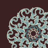 Ornamento veneciano antiguo, vintage patrón — Vector de stock