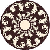Antique ornament — Stock Vector