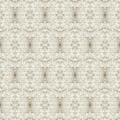 Delicado patrón floral transparente vintage — Vector de stock